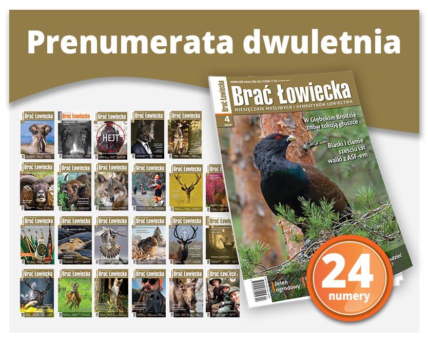 Prenumerata tradycyjna dwuletnia BŁ